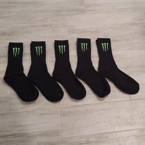 Monster Energy Athlete Only socks